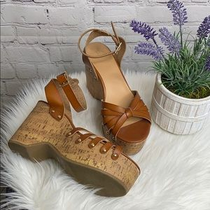 Missimo Brown Wedges